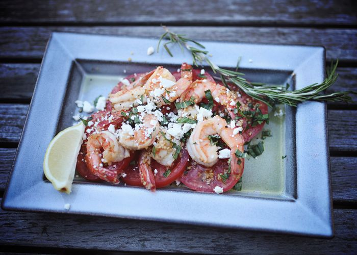 Recipe of the Month:Shrimp Scampi and Tomatoes
