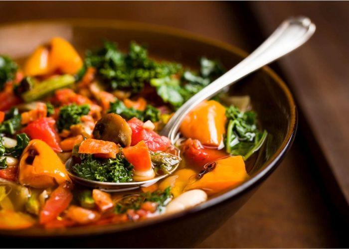 Farmer's Market Roasted Vegetable Soup