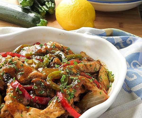 Low Carb Italian Chicken Cacciatore Taking Control Of Your Diabetes
