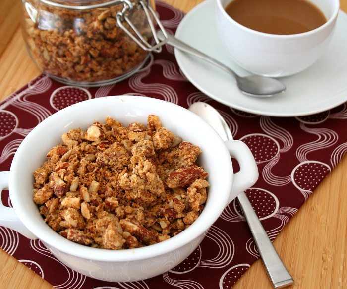 Peanut Butter Power Granola