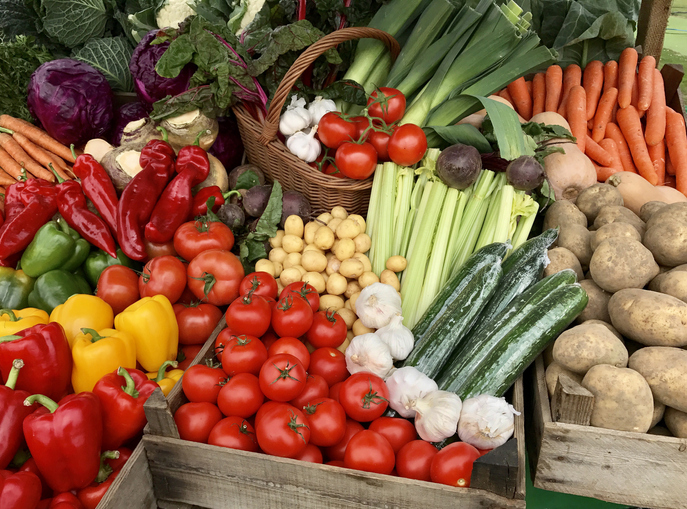 How to Get More Brightly Colored Food into Your Diet (and Not Just M&M's!)