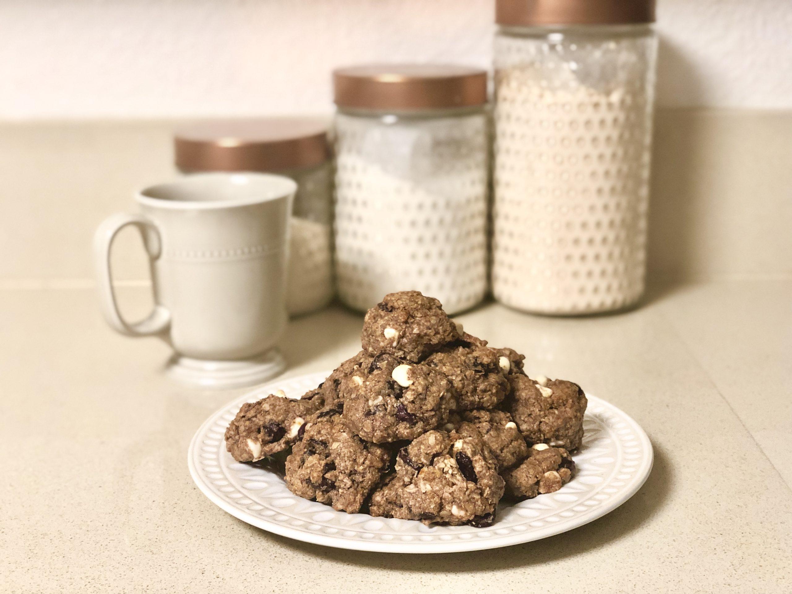 Zesty Almond Butter Cookies