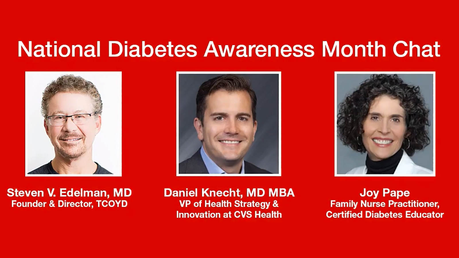CVS Health + TCOYD: National Diabetes Awareness Month