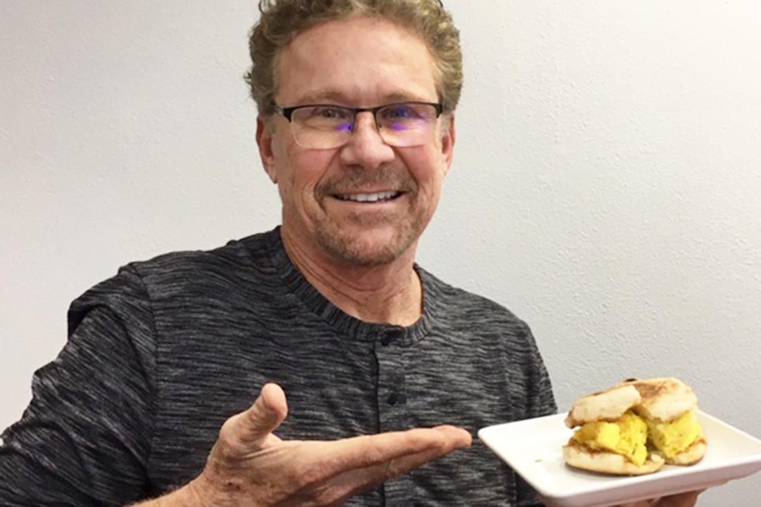 The McEdelman Breakfast Sandwich