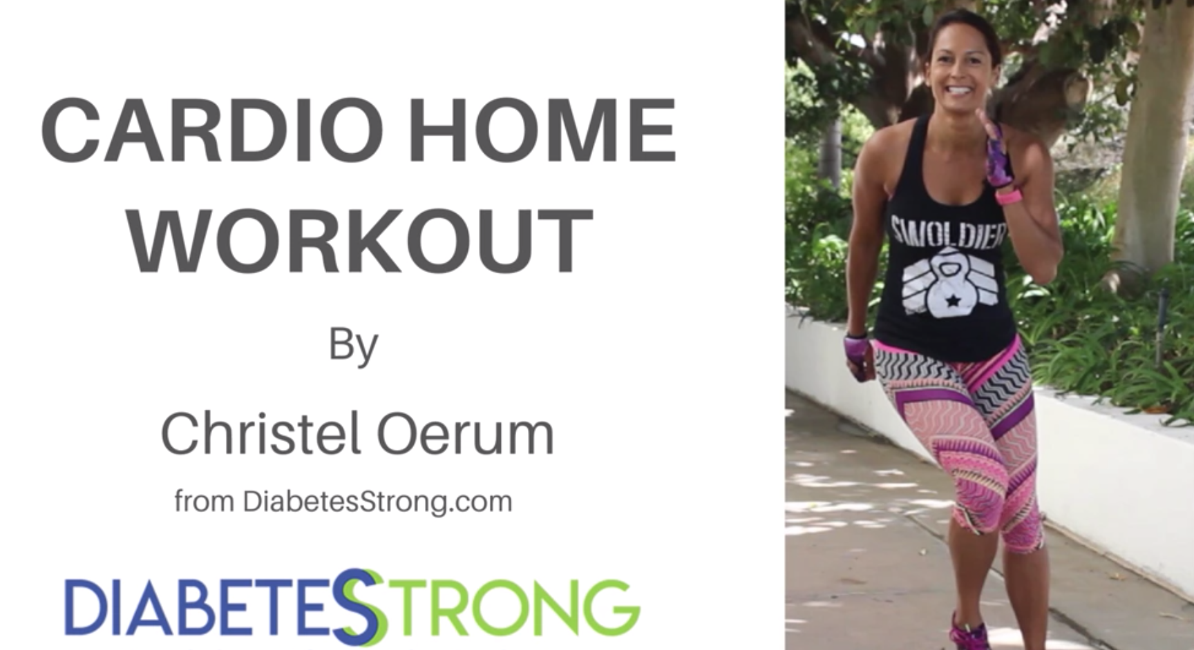 Cardio Home Workout from Diabetes Strong