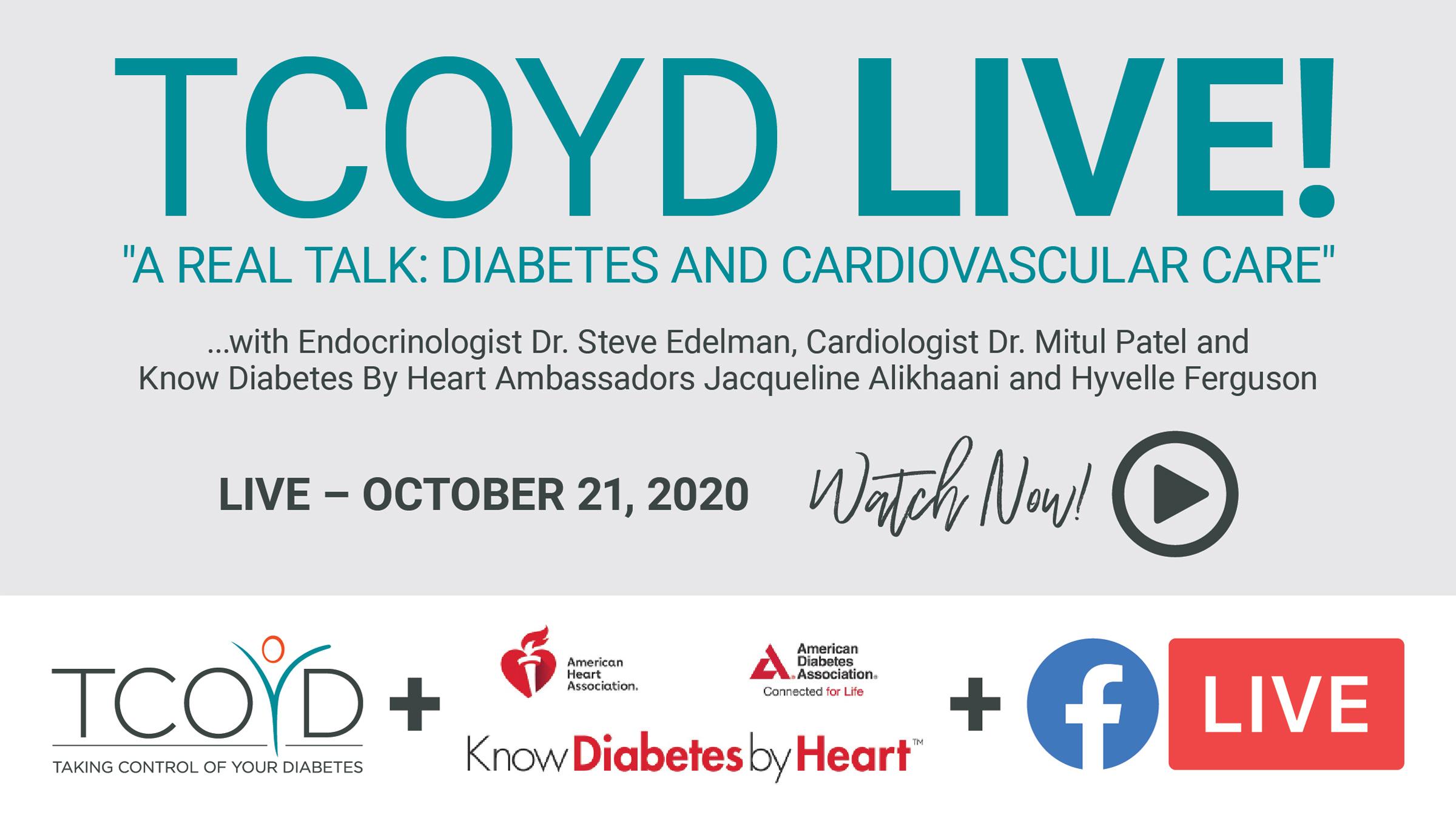 Facebook Live: Diabetes & Cardiovascular Care