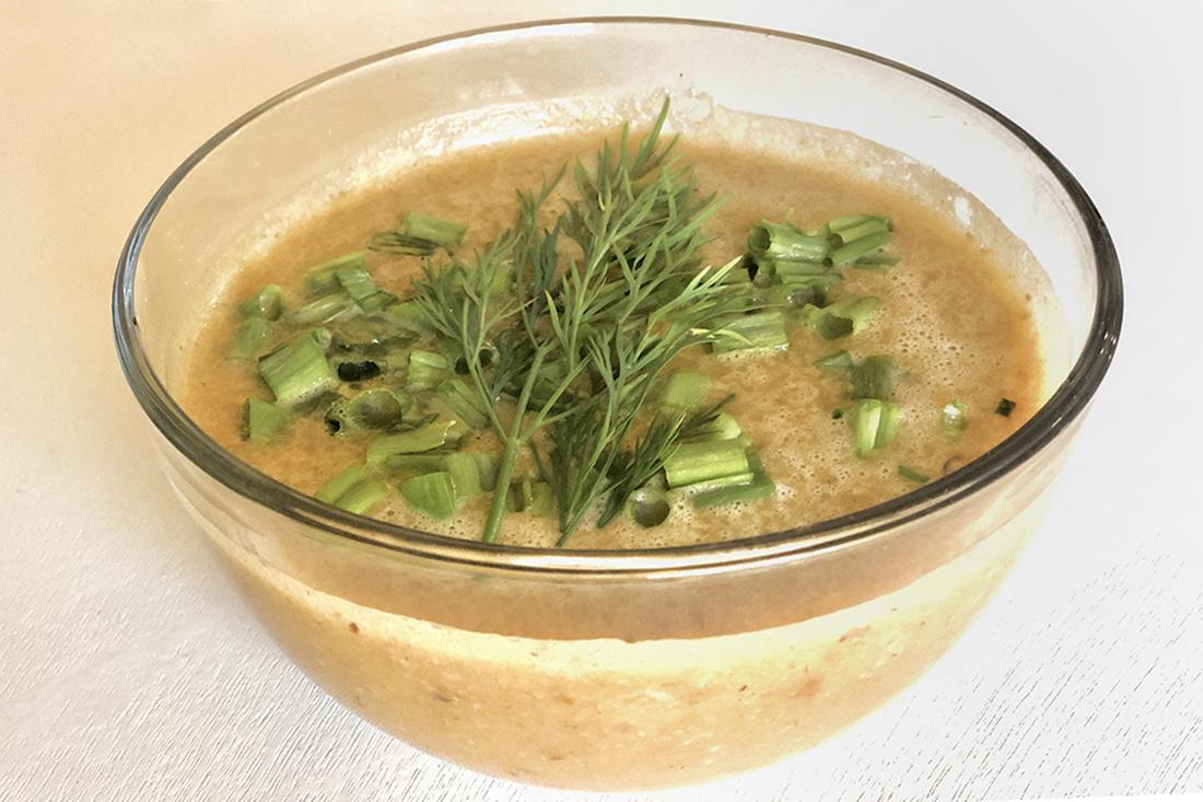 Shortcut Butternut Squash Soup