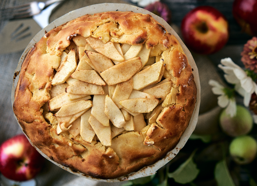 Low Carb Apple Galette