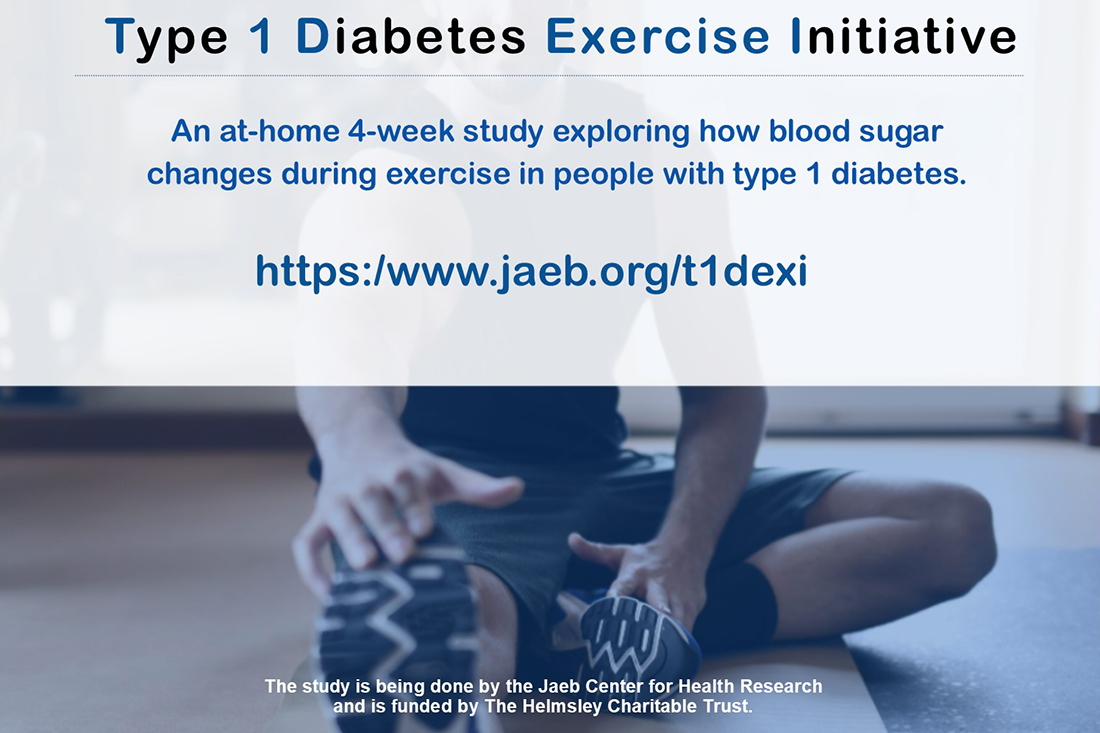 Study Examines How Exercise Affects Blood Sugar in People with Type 1