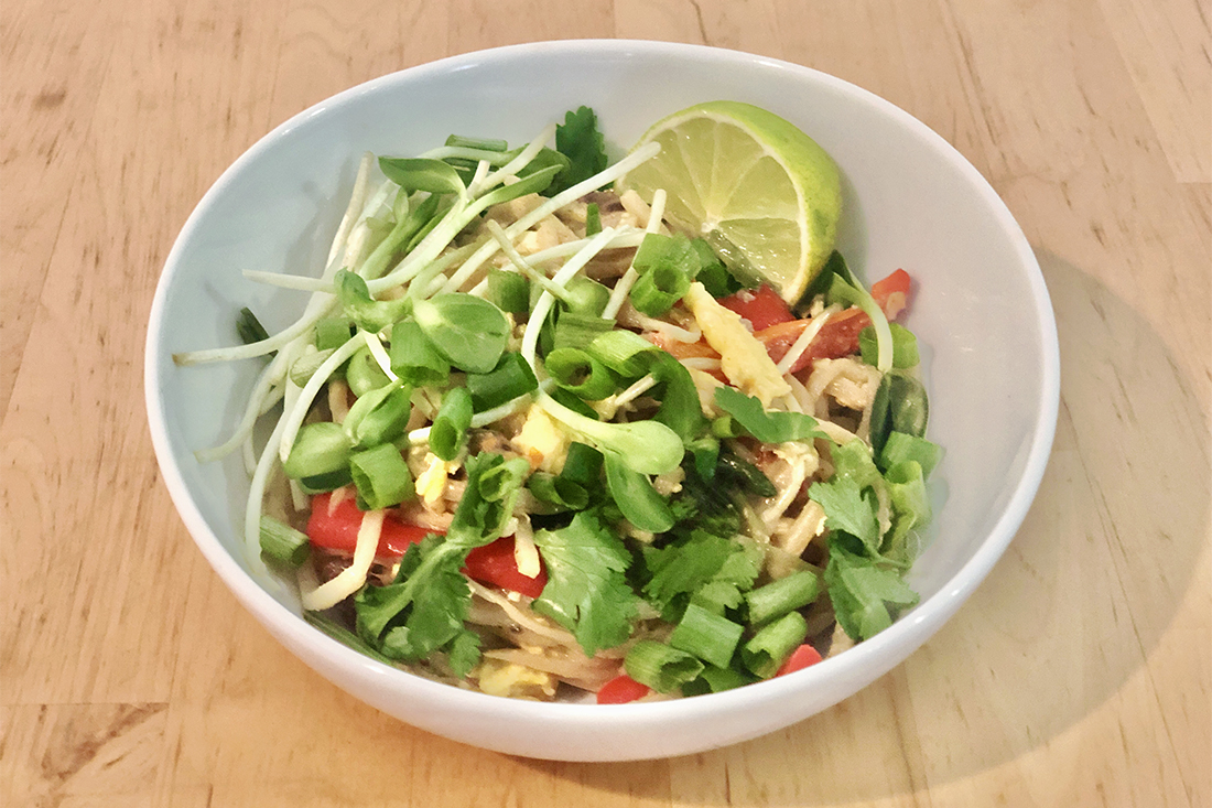 Pad Thai That Will Steal Your Hearts....of Palm