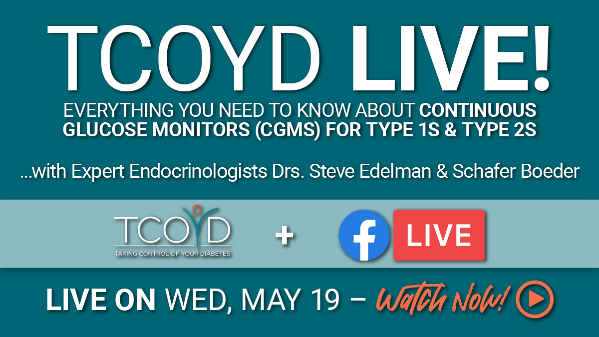 Facebook Live: Everything You Need to Know about CGMs