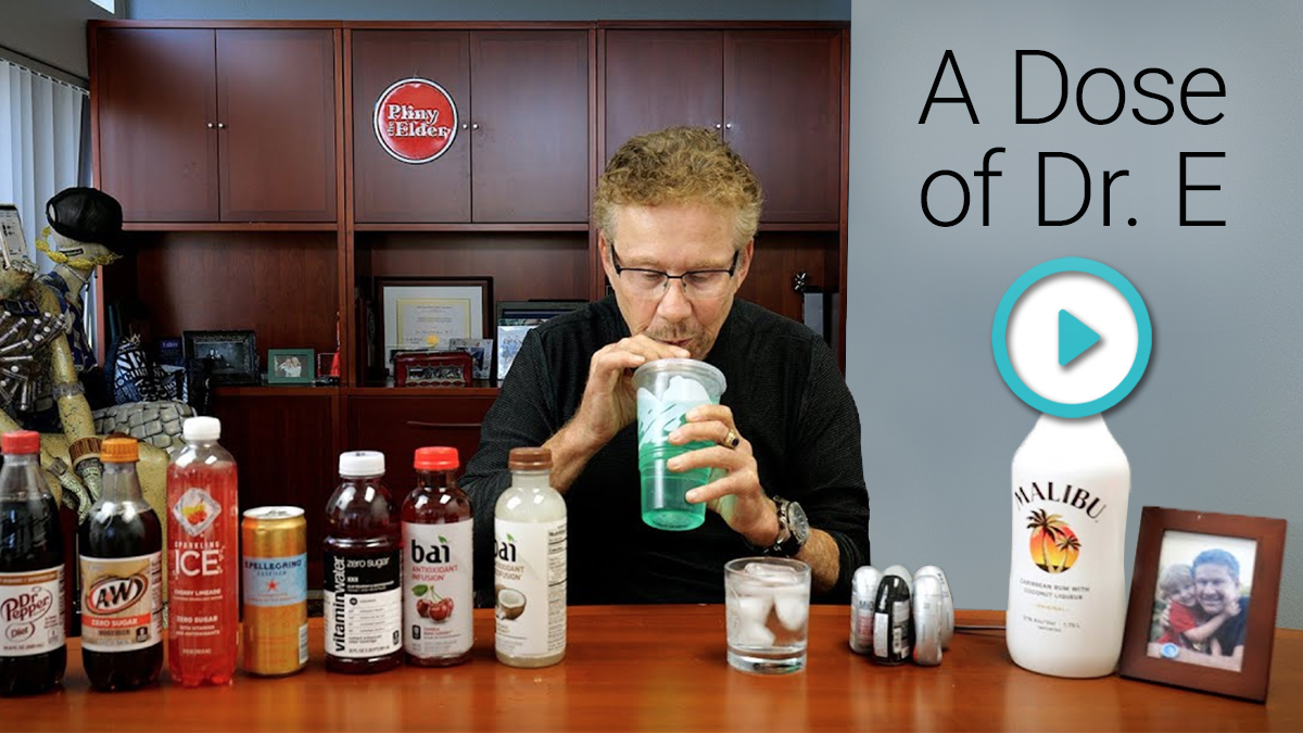 A Dose of Dr. E: The Best Low Calorie Drinks