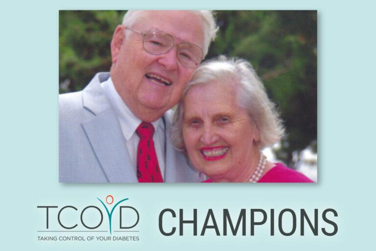 TCOYD Champions David and Barbara Groce